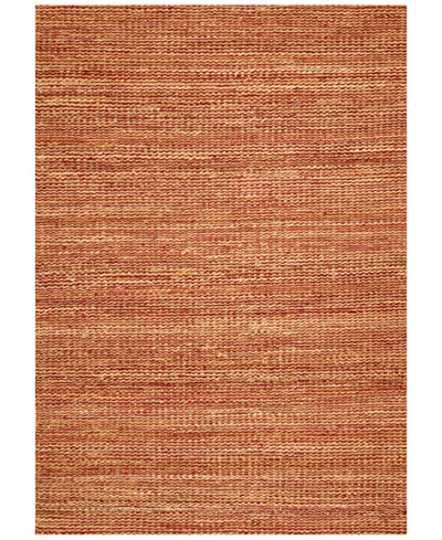 D Style Natural Jute Merlot Area Rugs