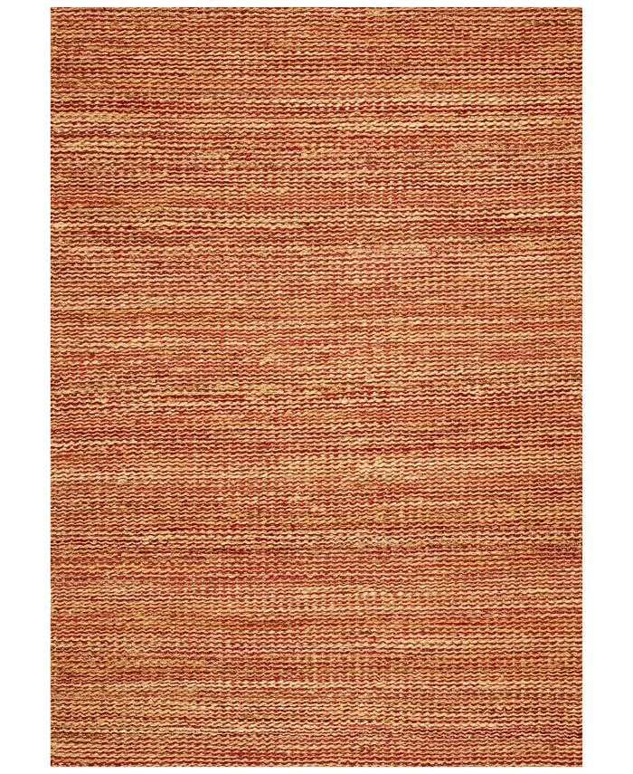 D Style - Natural Jute Avocado 8' x 10' Area Rug