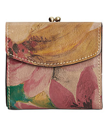 Patricia Nash Rieti Bifold Frame Wallet