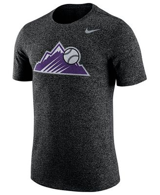 Nike Men 39 S Colorado Rockies Marled T Shirt Sports Fan
