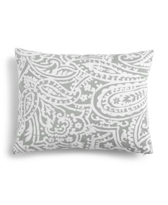 """Paisley 14"""" x 18"""" Decorative Pillow, Created for Macy's"""