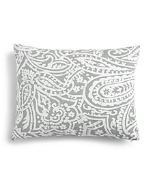 "Charter Club Damask Designs Paisley 14"" x 18"" Decorative Pillow, Created for Macy's"