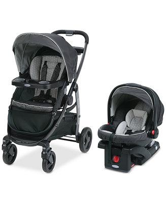 graco baby modes click connect stroller snugride 35 infant car seat travel system kids. Black Bedroom Furniture Sets. Home Design Ideas