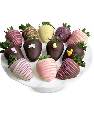 Chocolate Covered Company 12-pc. Easter Chocolate Covered Strawberries