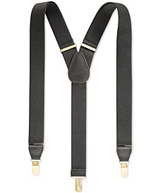 Men's Solid Suspenders, Created for Macy's