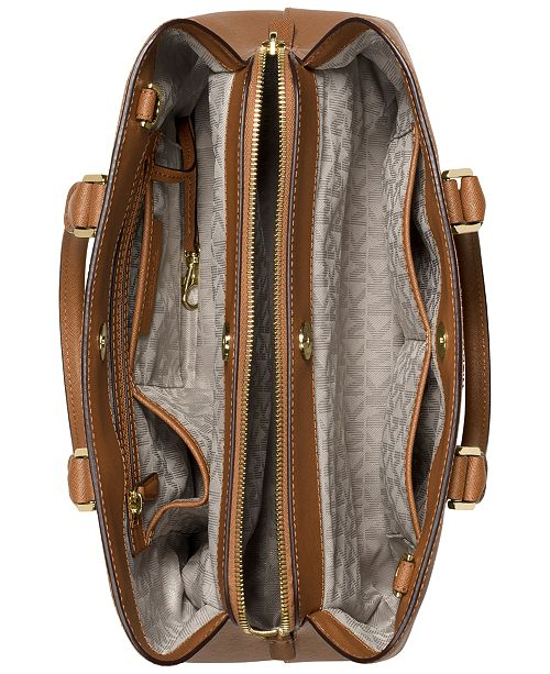 4f715feb3184 Michael Kors Savannah Large Satchel & Reviews - Handbags ...