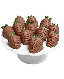 12-pc. Milk Chocolate Covered Strawberries