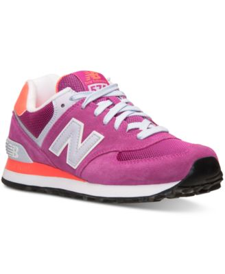 new balance women's 574 core casual sneakers from finish line