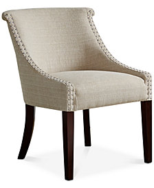 Krista Fabric Accent Chair, Quick Ship