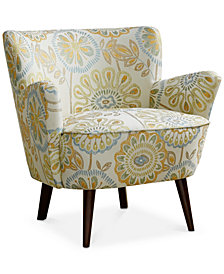 Sophie Mid Century Accent Chair, Quick Ship