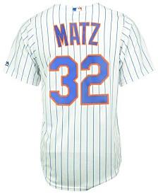 Majestic Men's Steven Matz New York Mets Replica Jersey
