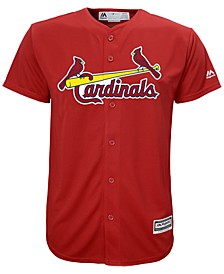 MLB St.Louis Cardinals Cool Base Jersey, Little Boys (4-7)