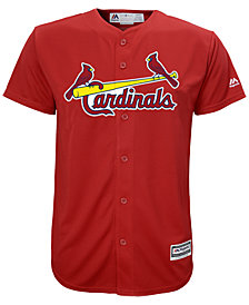 Majestic MLB St.Louis Cardinals Cool Base Jersey, Little Boys (4-7)