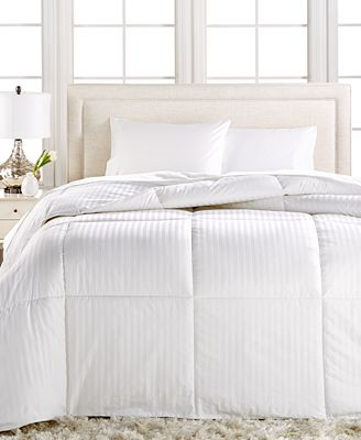 Charter Club Sleep Cloud Down Alternative Comforters, Hypoallergenic Fill, 100% Cotton Cover, Only at Macy's
