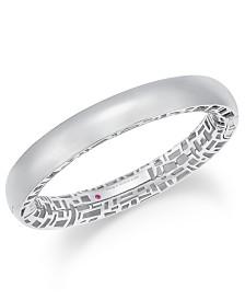 The Fifth Season by Roberto Coin Sterling Silver Bangle Bracelet 7771320SWBA0