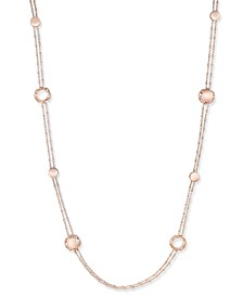 18k Rose Gold-Plated Sterling Silver Necklace 7771132SX470