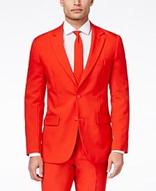 Men's Red Devil Solid Suit