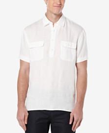 Perry Ellis Men's Double-Pocket Popover Shirt