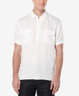1930s Mens Shirts | Dress Shirts, Polo Shirts, Work Shirts Perry Ellis Mens Double-Pocket Popover Shirt $51.99 AT vintagedancer.com