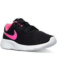 Nike Little Girls' Tanjun Casual Sneakers from Finish Line