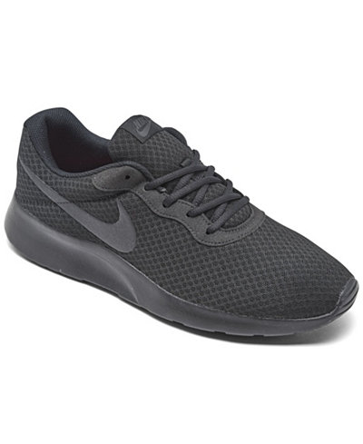 Nike Men 39 S Tanjun Casual Sneakers From Finish Line Finish Line Athletic Shoes Men Macy 39 S