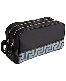 Receive a Complimentary Toiletry Bag with a large spray purchase from the Versace men's fragrance collection