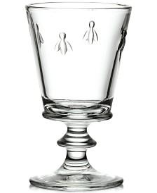 La Rochère Glassware, Set of 6 Napoleonic Bee Water Glasses