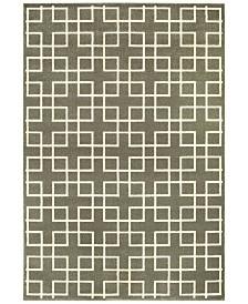 "Oriental Weavers Ellerson Crosswalk 6'7"" x 9'6"" Area Rug"
