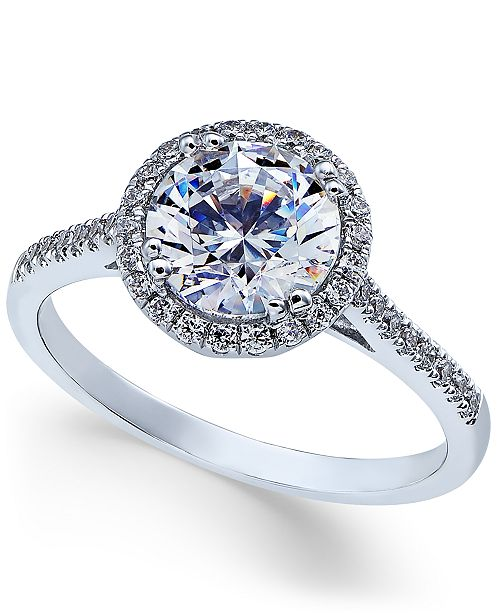 c65d407a656c Arabella Swarovski Zirconia Ring in 14k White Gold