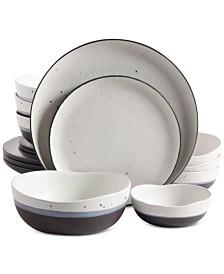 Rhinebeck 16 Piece Stoneware Dinnerware Set