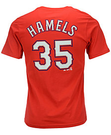 MajesticCole Hamels Texas Rangers Player T-Shirt, Big Boys (8-20)