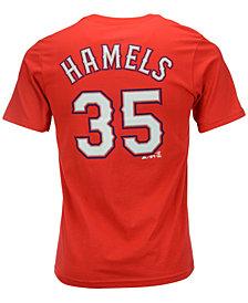 MajesticCole Hamels Texas Rangers Player T-Shirt, Big Boys (8-20)