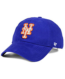 official photos eb8d5 078ad  47 Brand New York Mets Gemstone Clean Up Cap