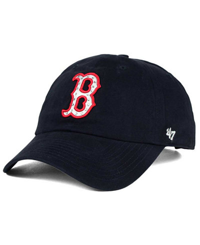 '47 Brand Boston Red Sox Gemstone Clean Up Cap