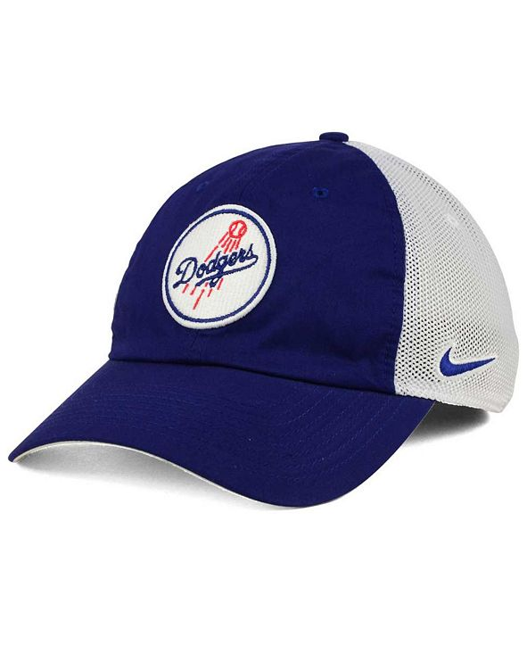 Nike Los Angeles Dodgers Dri-FIT Mesh Swoosh Adjustable Cap