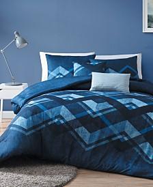 Cody Reversible 5 Piece King Comforter Set