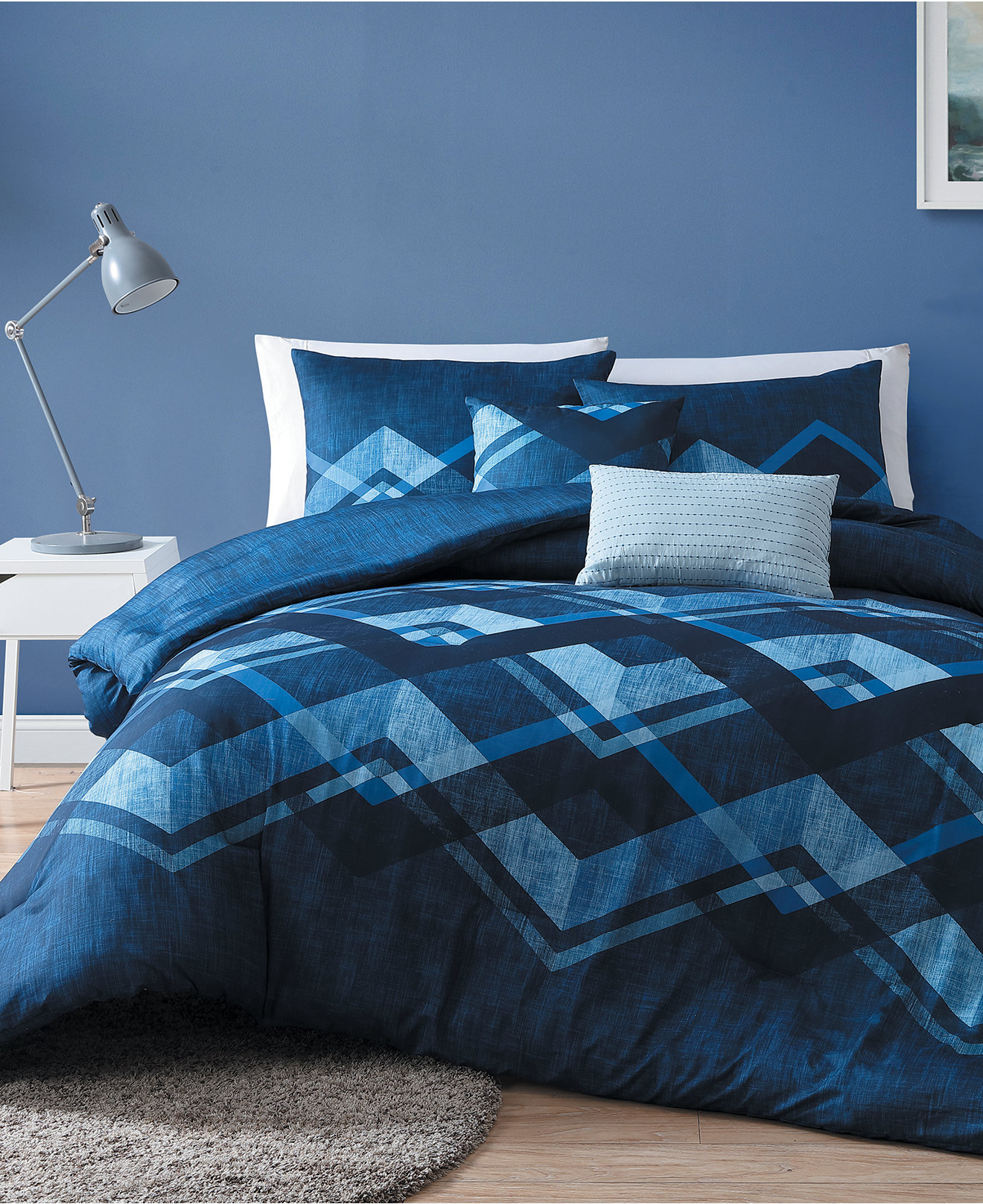 Blue bedspreads and comforters - Cody Reversible Comforter Sets