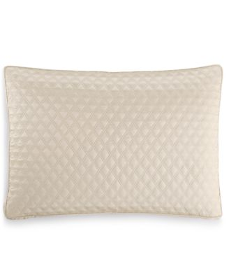 CLOSEOUT! Dimensions Champagne Quilted Standard Sham, Created for Macy's