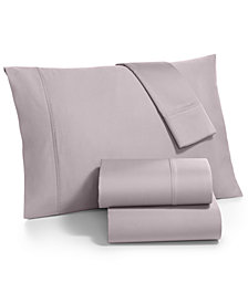 Fairfield Square Collection Whitney California King 4-Pc  Sheet Set, 1000 Thread Count