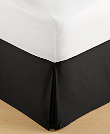 Hotel Collection Onyx Queen Bedskirt, Created for Macy's