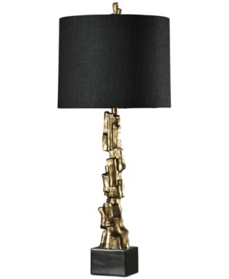 StyleCraft Vintage Gold Tone Table Lamp