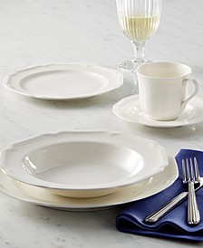 Dinnerware, Antique White Collection