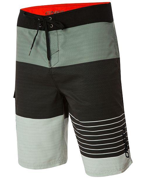 b99b1a8de8 O'Neill Men's Lennox Colorblocked Board Shorts & Reviews ...