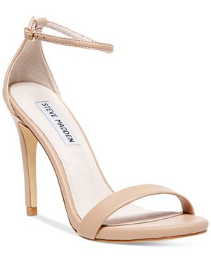 Stecy SM faux-leather heeled sandals