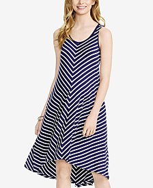 Jessica Simpson Maternity Striped Sleeveless Dress