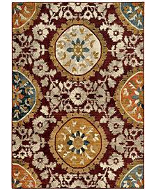 "Oriental Weavers Sedona 6366A 6'7"" x 9'6"" Area Rug"