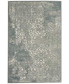 "Karastan Euphoria Ayr Willow Grey 6'6"" x 9'6"" Area Rug"