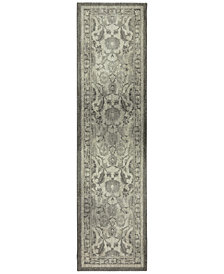"Karastan Euphoria New Ross Ash Grey 6'6"" x 9'6"" Area Rug"
