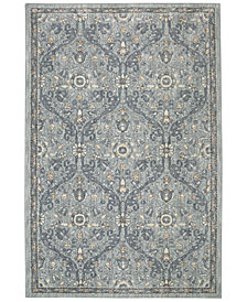 "Karastan Euphoria Galway Willow Grey 5'3"" x 7'10"" Area Rug"