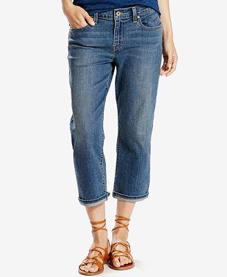 Levi's® Classic Capri Jeans - Jeans - Women - Macy's
